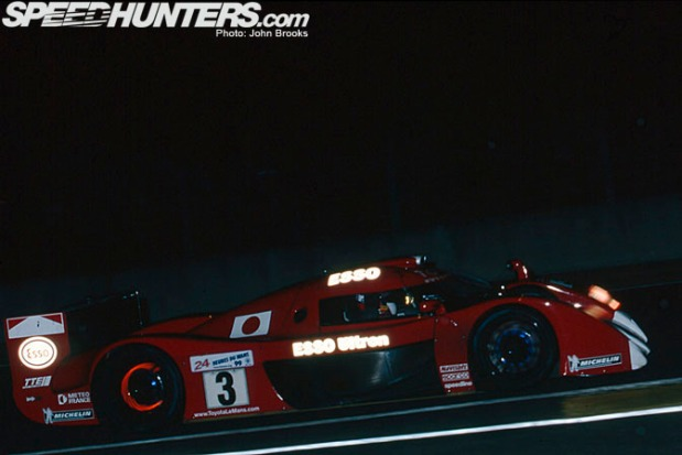 Racing through the night, June 1999.