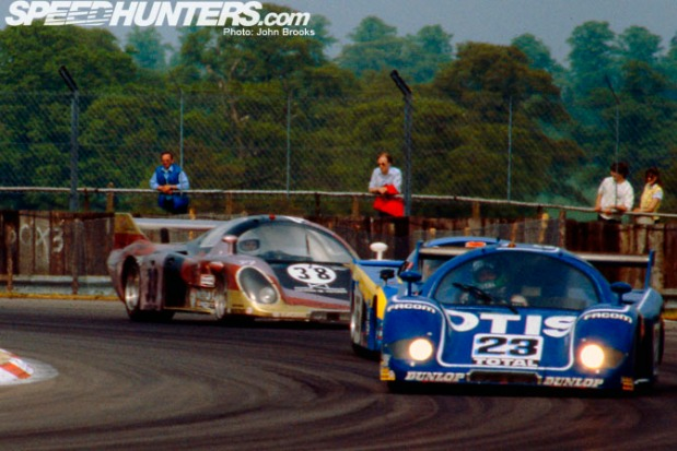 Silverstone 82...Rondeau midfield battle