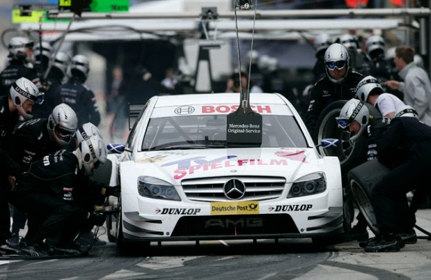 Motorsports / DTM: german touring cars championship 2008, 4. race Lausitz Eurospeedway